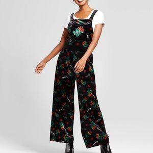 Mistletoe Velvet Jumpsuit